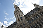 Grand Place Town Hall — Stock Photo