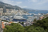Monaco Skyline — Stock Photo