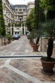 Monte Carlo Driveway — Stock Photo