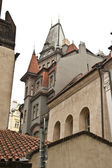 Prague Town Skyline — Stock Photo