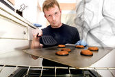 Smoking Cookies — Stock Photo