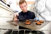 Smoking Cookies — Stock Photo