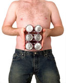 Six pack? — Stock Photo
