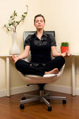 Zen Home Office — Stock Photo