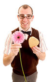 Flower or Chocolates? — Stock Photo