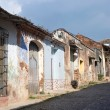 Decaying Colonial Buildings - Trinidad, Cuba — Stock Photo