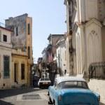Narrow Havana Streets — Stock Photo