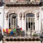 Havana Balcony, Cuba — Stock Photo