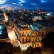 Stock Photo: Centro Havana at Night