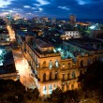 Centro Havana at Night — Stock Photo
