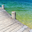 Weathered Boardwalk — Stock Photo