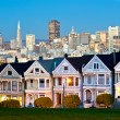 Stock Photo: Alamo Square - SFrancisco, USA