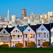 Alamo Square - San Francisco, USA - Stock Photo