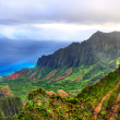 Stock Photo: Kalalau Lookout, Kauai, HI.