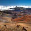 This image shows Haleakala Crater on the island of Maui, Hawaii — Stock Photo #10272561