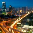 Panama City by Night - Stock Photo