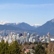 Vancouver, Canada flanked by Mountains — Stock fotografie #10272710