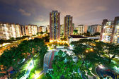 HDB housing block in Singapore — Stock Photo