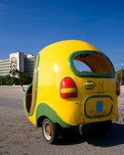 Coco Taxi, Havana, Cuba — Stock Photo