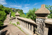 Pathway to Uluwatu Temple — Stock Photo