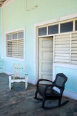 Vinales Porch, Cuba — Stock Photo