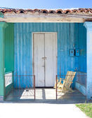 Colourful Porch, Vinales, Cuba — Stock Photo