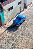 Cobble Stone Car - Trinidad Cuba — Stock Photo