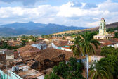 Trinidad roof tops, Cuba — Stock Photo