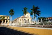 Hlavní náměstí - trinidad, kuba — Stock fotografie