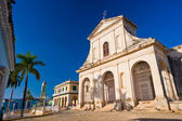 Mayor Plaza, Trinidad Cuba — Stock Photo