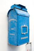 старый почтовый ящик - гавана, куба — Стоковое фото