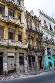 Crumbling Homes - Havana, Cuba — Stock Photo