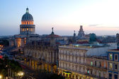 Capitolio by night - Havana, Cuba — Stockfoto