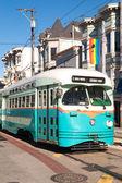 Tranvías - castro, san francisco — Foto de Stock