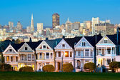 Alamo Square - San Francisco, USA — Stock Photo