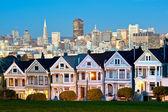 Alamo Square - San Francisco, USA — Stock Photo