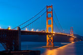 Golden Gate Bridge - San Francisco — Stock Photo