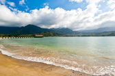 Hanalei bay, Kauai, Hawaii — Stock Photo