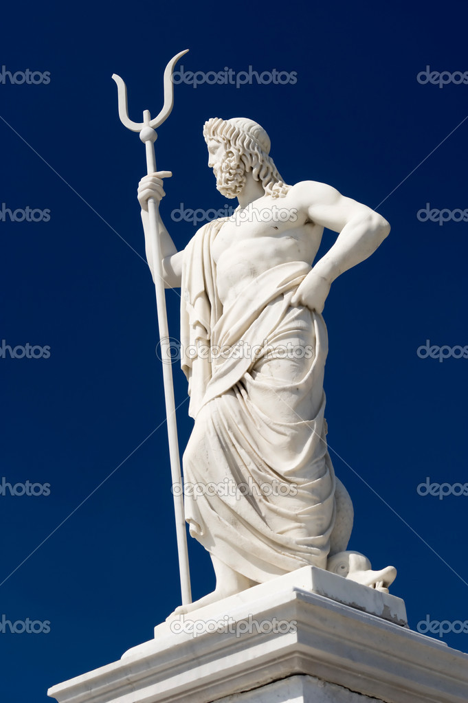This image shows a statue of Neptune located in Havana, Cuba — Stock Photo #10271076