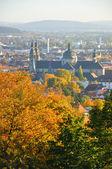 Fuldaer Dom (Cathedral) from Frauenberg in Fulda, Hessen, German — Stock Photo