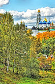 Lavra (The Trinity Sergiev Monastery) (HDR) in Sergiev Posad, Mo — Stock Photo