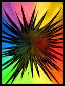 Rainbow Splat — Stock Photo