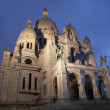 Stock Photo: Paris - Sacre Coeur in evening