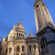 Paris - Sacre Coeur basilica in evening - Photo
