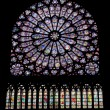 Ages, architecture, canopy, cathedral, christ, christendom, color, europe, faith, france, glass, gothic, history, holy, interior, mary, medieval, meditation, middle, notre-dame, paris, religion, relig — Stock Photo #10153653