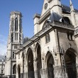 Paris - Saint Germain-l'Auxerrois gothic church - Stock Photo