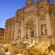 Rome - Fontana di Trevi in evening — Stock Photo