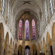 Interior of gothic church from Paris -Saint-Germain-l'Auxerrois church — Stock Photo #10153791