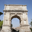 Rome - Titus triumph arch — Stock Photo #10153824