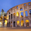 Rome - colosseum in evening — Foto de Stock